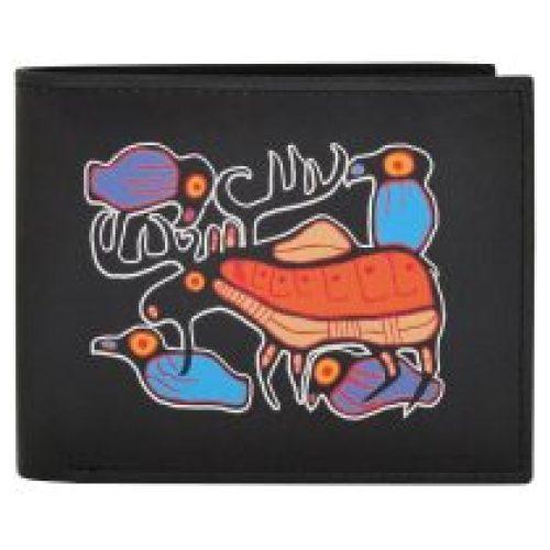 Norval Morrisseau Moose Harmony Men's Wallet