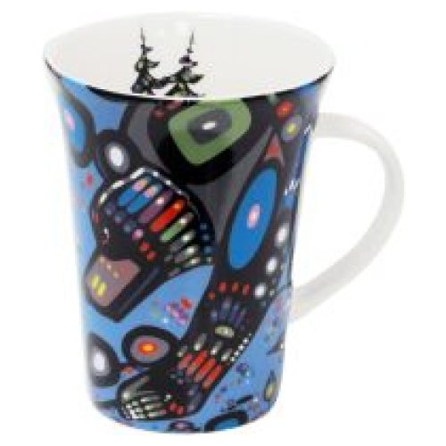 John Rombough Bear Porcelain Mug