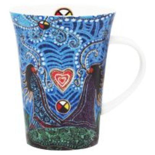 Leah Dorion Breath of Life Porcelain Mug