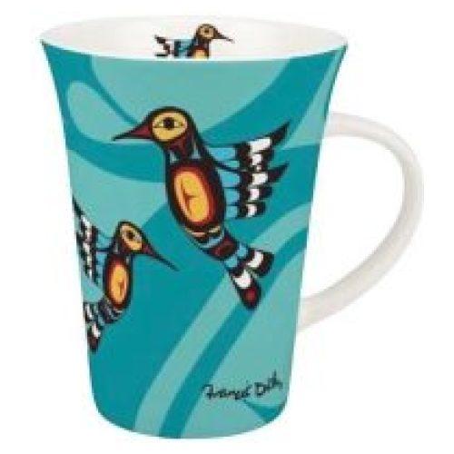 Francis Dick Hummingbird Porcelain Mug