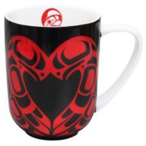 Roy Henry Vickers Eagle Heart Porcelain Mug